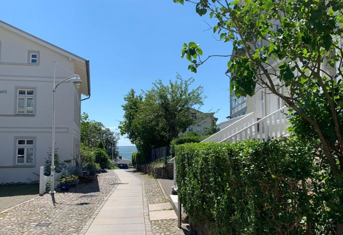 Villa Rosengarten - Ferienwohnung Baumhaus mit Seeblick