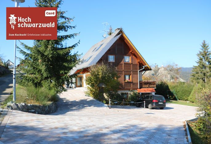 Ferienwohnung Seeblick Nr. 3 - 2 Zi-Bärental, Feldberg