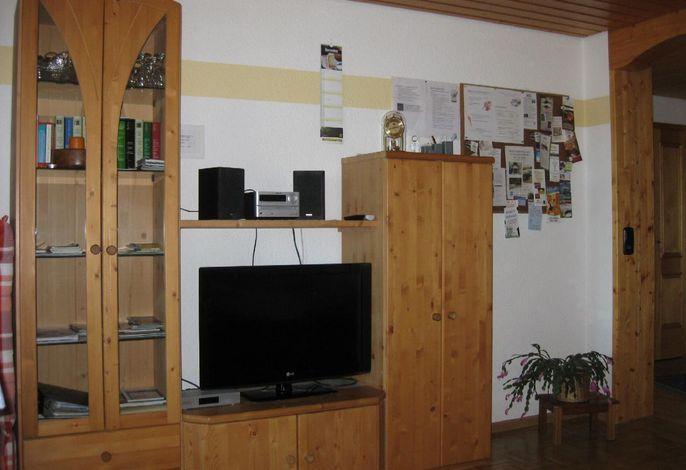 Wohnwand mit Flat-TV