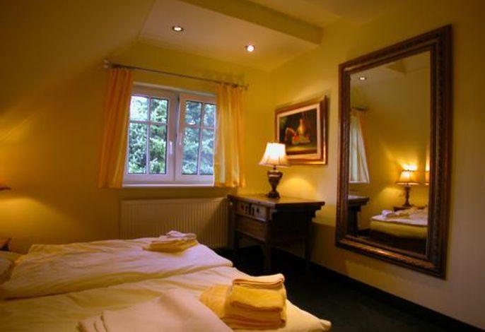 29c Lotsenhaus Schlafzimmer im Obergeschoß