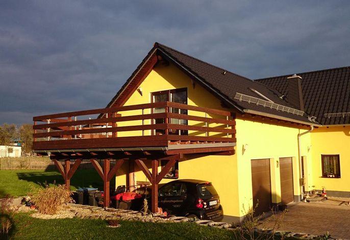 Ferienwohnung mit großzügiger Dachterrasse
