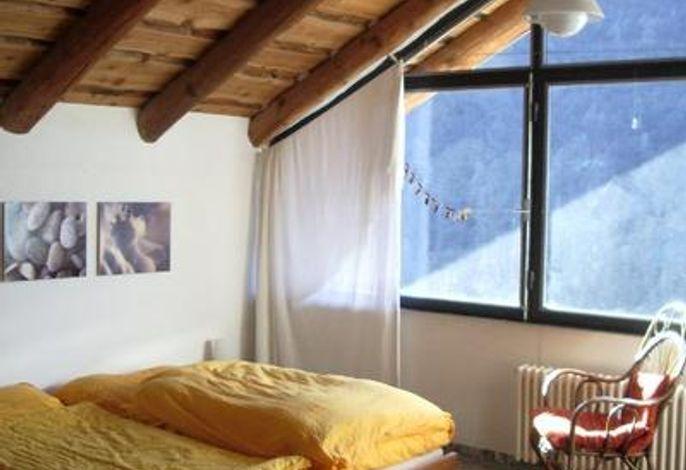 Schlafzimmer mit Sternenblick