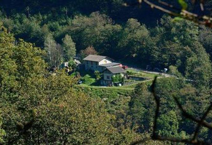 Casa Cresmino mitten in der Natur