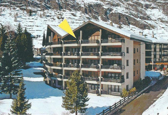 Beste Lage im Zentrum von Zermatt###br###Süd Balkon. Freie Sicht Matterhorn