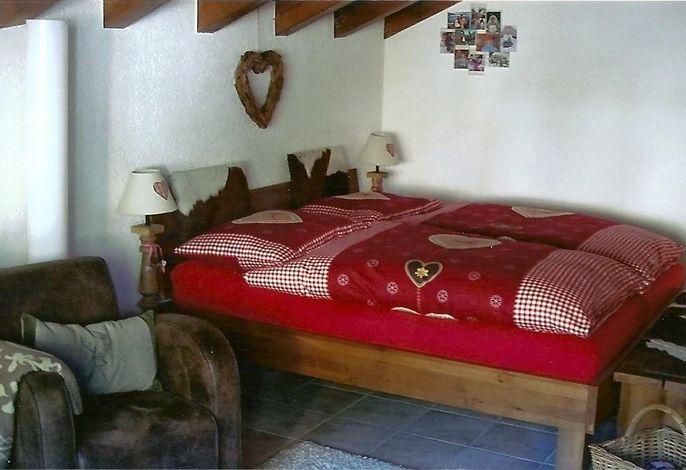 2 Betten, bei Ihrer Ankunft bezogen.