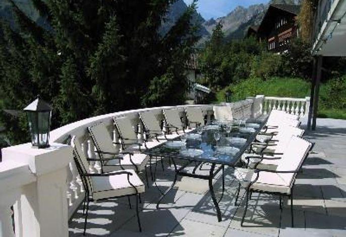 Sommer auf der Terrasse
