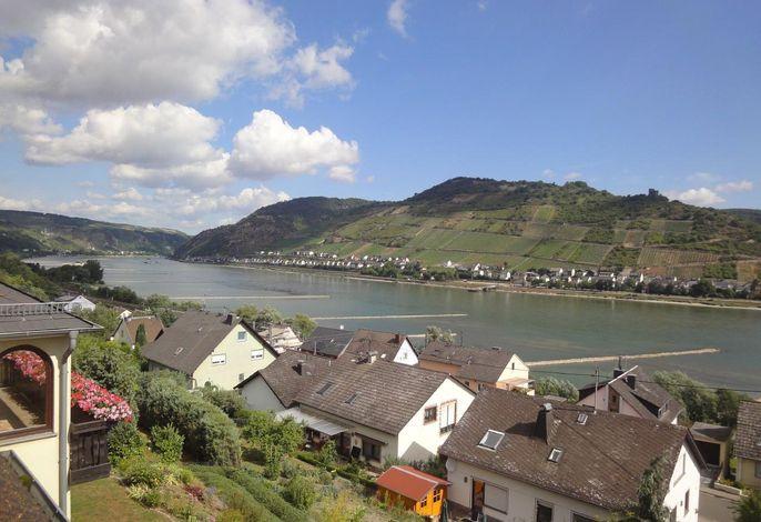 Blick ins Rheintal (Wohnzimmer)