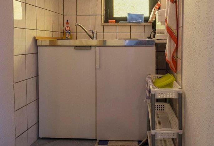 Kleine funktionelle Küche