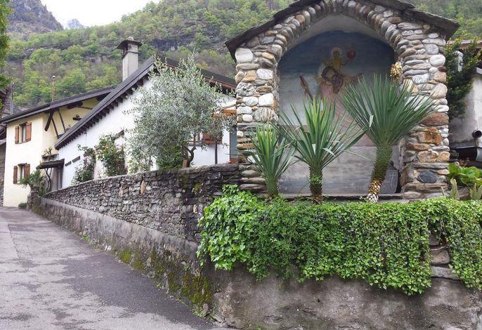 Casa San Cristoforo - Sicht von der Gasse
