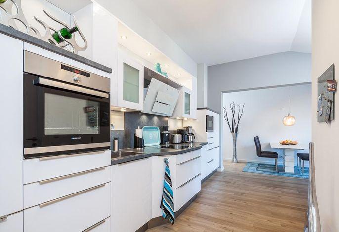 Top ausgestattete Designküche