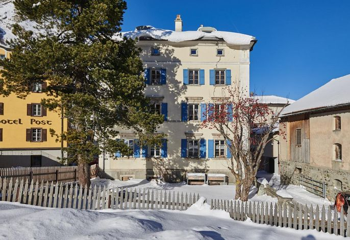 Ansicht Haus Winter