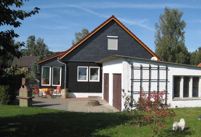 Ferienhaus Rückseite
