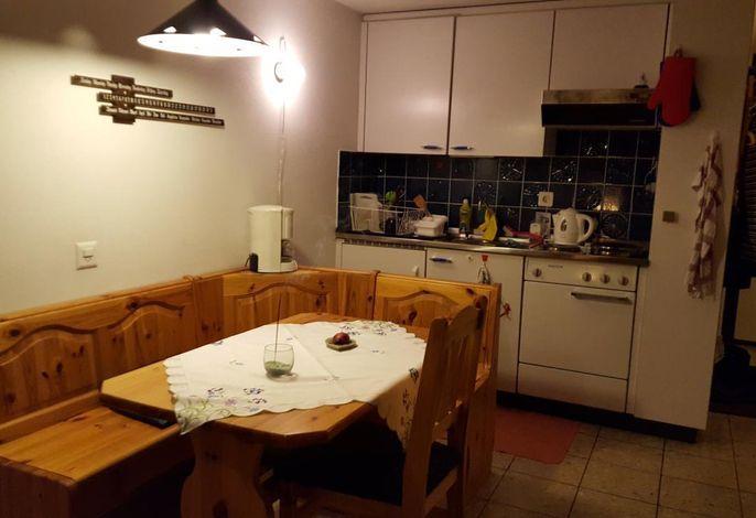 Essecke mit Küche