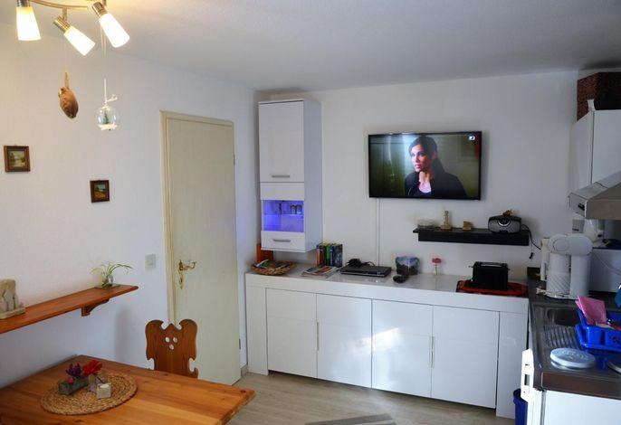 Wohnbereich. Wohnzimmer mit Schrankwand