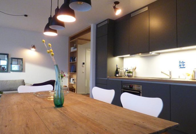 Innenraum mit Küche