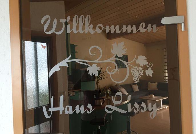Eingang zur Wohnung Haus-Lissy