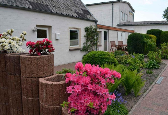 Ferienhaus Am Strand, Haus 2, Vorderansicht
