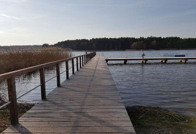 Badestelle Barniner See