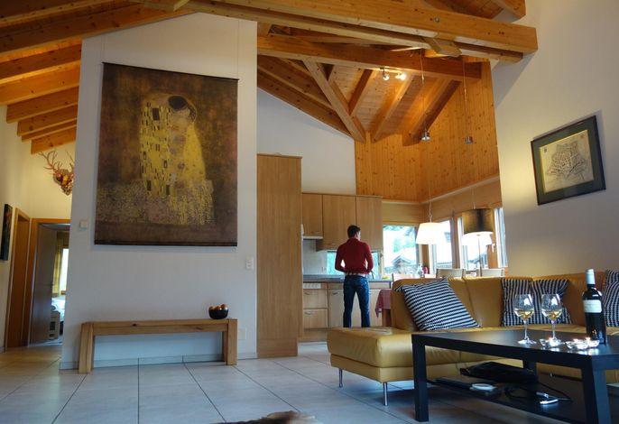 Innenaussicht Wohnzimmer