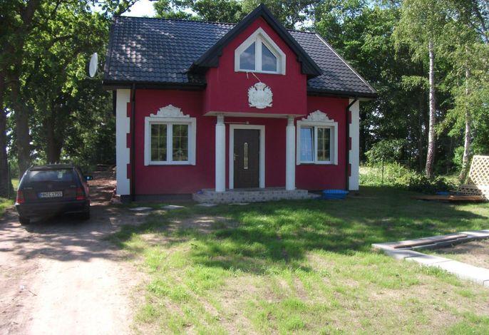 Ferienhaus Seeblick Frontseite