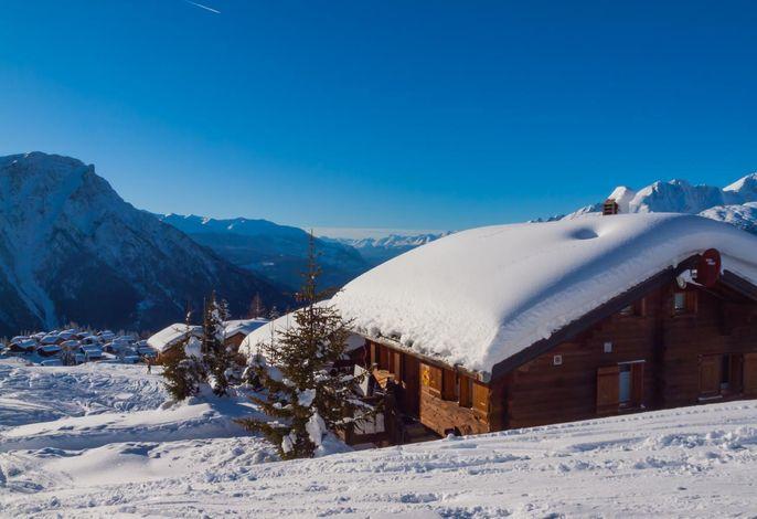 Chalet Fridi im Winter