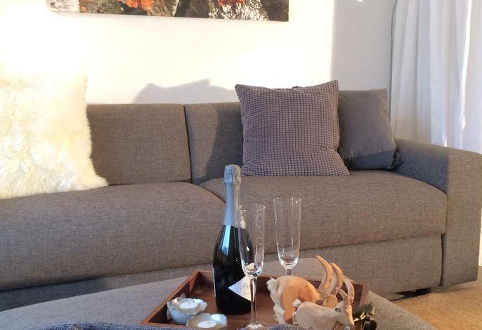 Gemütliche Stunden auf dem grossen Sofa