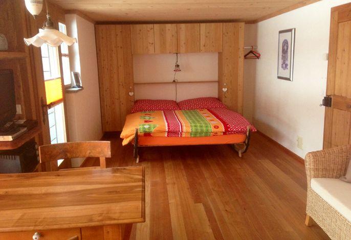 Wohnbereich/Bett