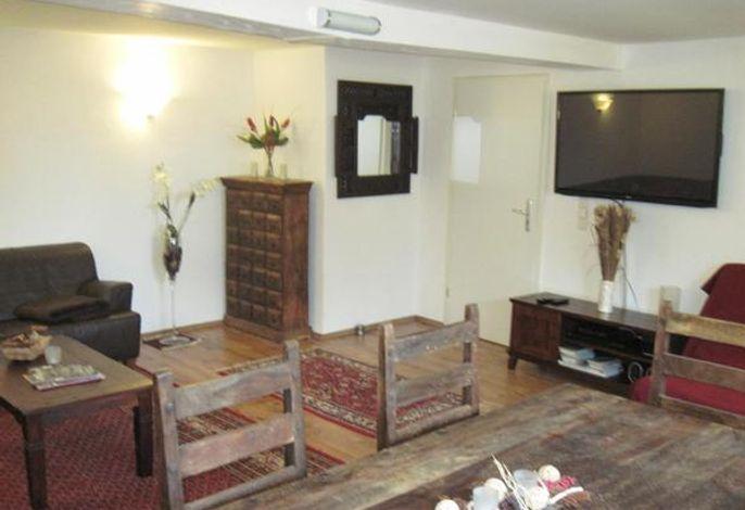 Wohnzimmer FeWo 1 - EG