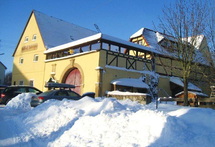 Landhaus Sobrigau Winter