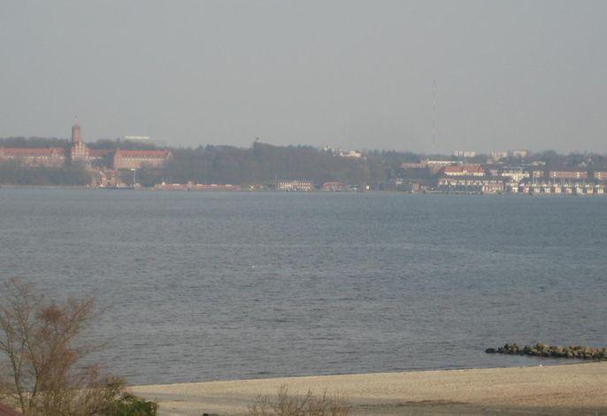 Panoramablick vom Balkon Ostseite