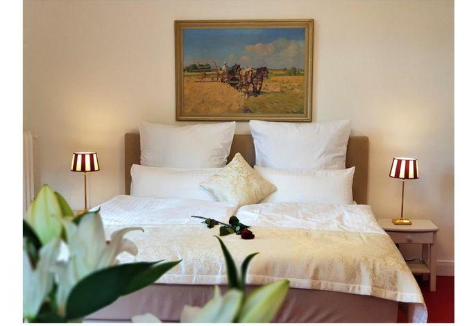 Schlafzimmer 1- Neue Boxspring Bett 180x200