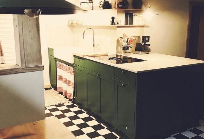 Küche untere Wohnung