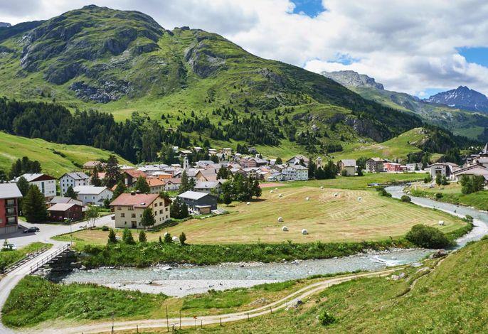 Bivio Dorf Sommer