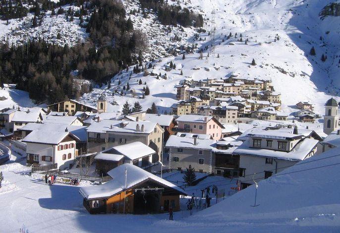 Bivio Dorf Winter