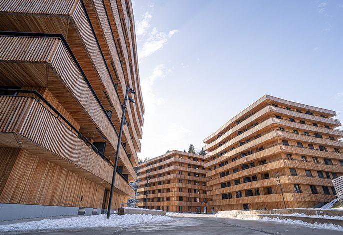 Stenna Cavorgia Ansicht Häuser