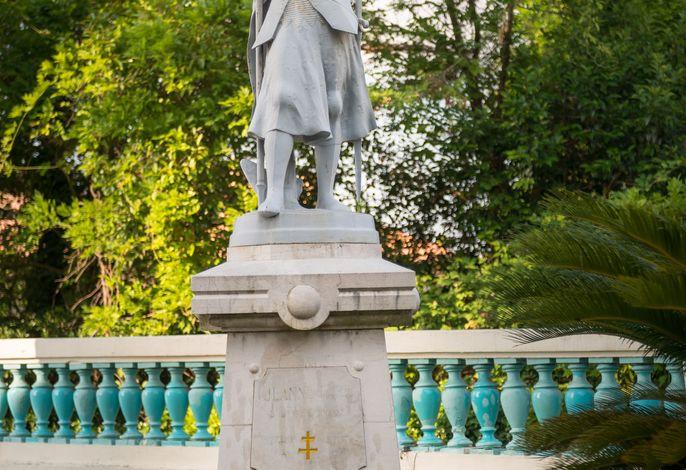 Garten. Jeanne d'Arc