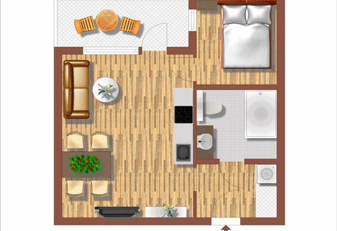 traditional apartments vienna Plan