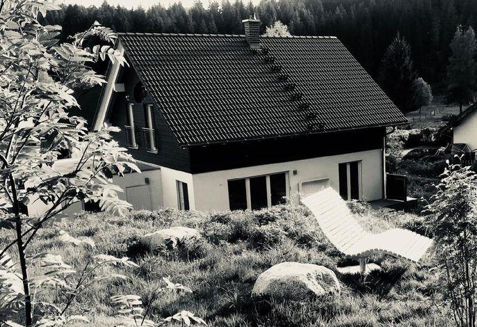 Das Schluchseehuus mit Himmelsliege