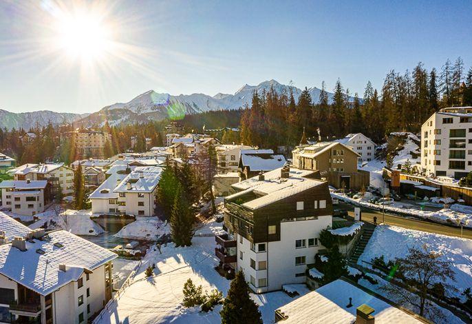 Ansicht Surmir - Flims Waldhaus