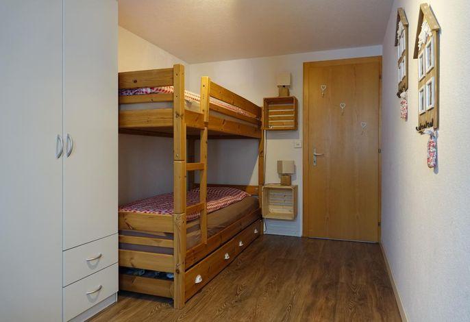 zusätzliches Schlafzimmer für 3.+4. Person