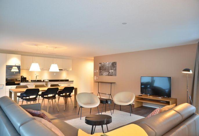 Wohnzimmer und Küchenbereich