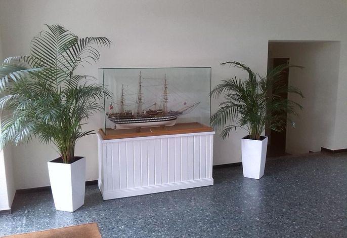 Eingangsbereich des Appartementhauses Bild 2