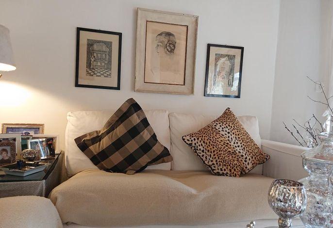 Blick vom Sofa aus