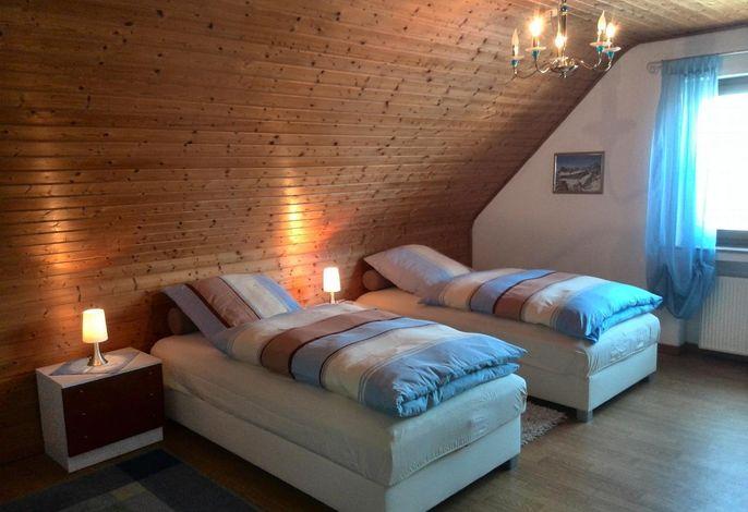 Schlafzimmer Nr. 2 ###br###Variante  Einzelbetten 1 x 2 m
