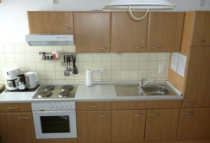 Küche mit Essplatz für 6 Personen
