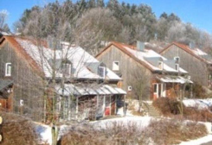 Winteransicht Ferienhaus