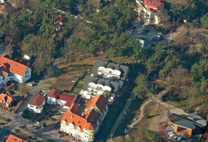 Luftaufnahme am Kurpark