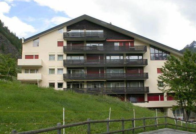 Die Wohnung befindet sich im 1. Stock linke Seite