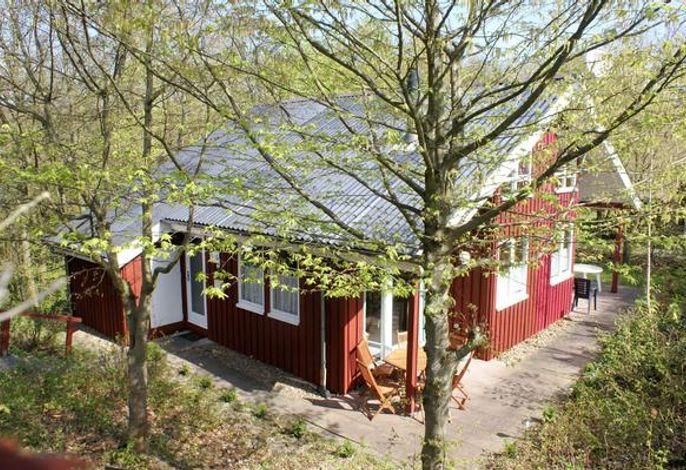 Ferienhaus Anke Winter linke Doppelhaushäfte