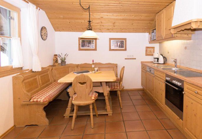 Wohnküche mit Eckbank